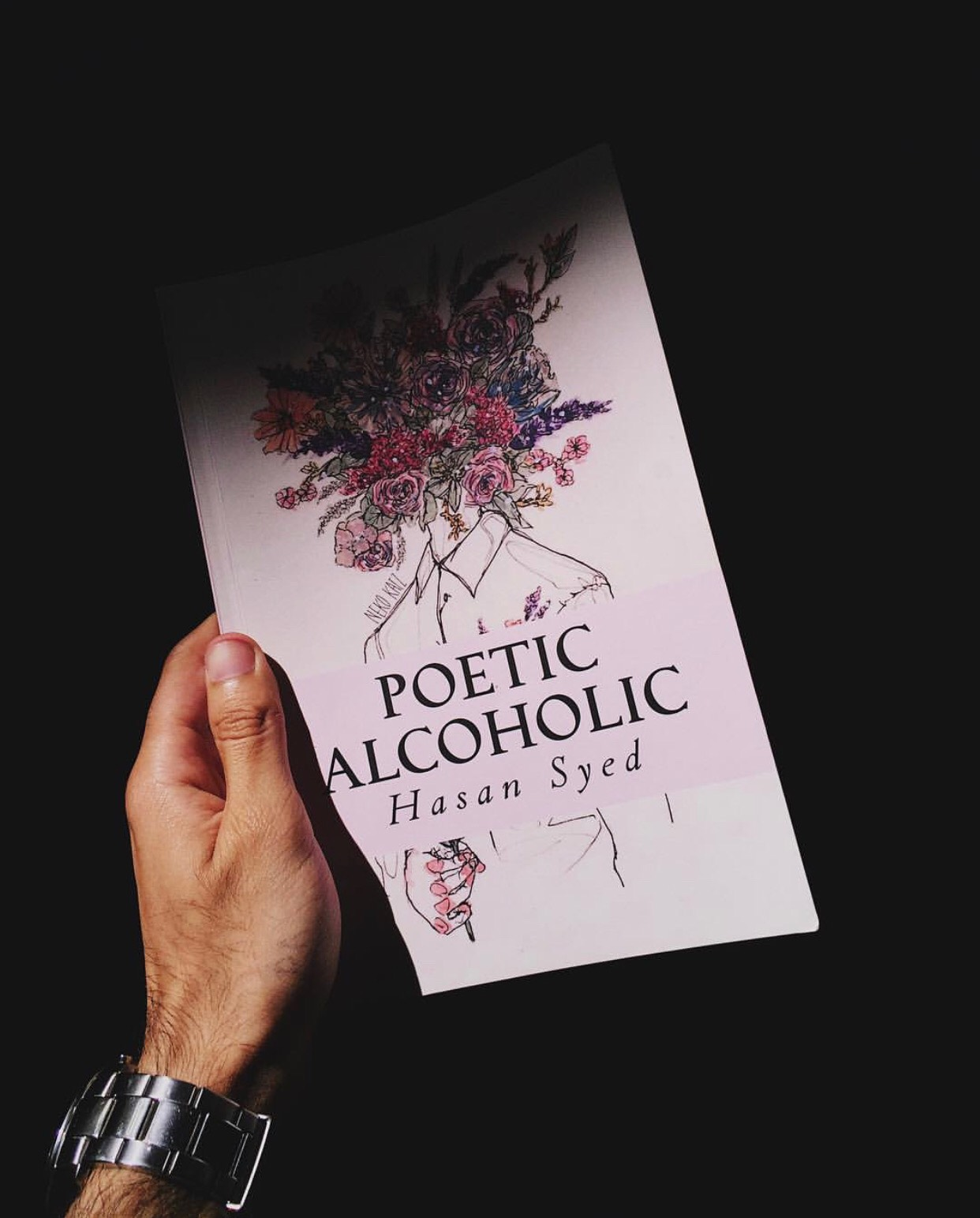 Don't forget to visit Hasan's    Instagram    and check out  Poetic Alcoholic , available now on    Amazon   .