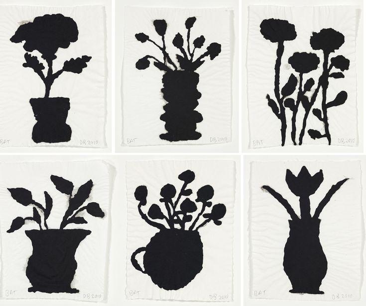 Donald Baechler Flower Pot prints