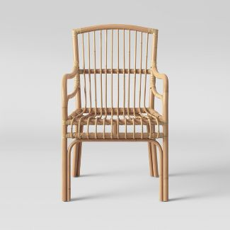 This  Bella Rattan Arm Chair  is $142.49 and is also from Target.