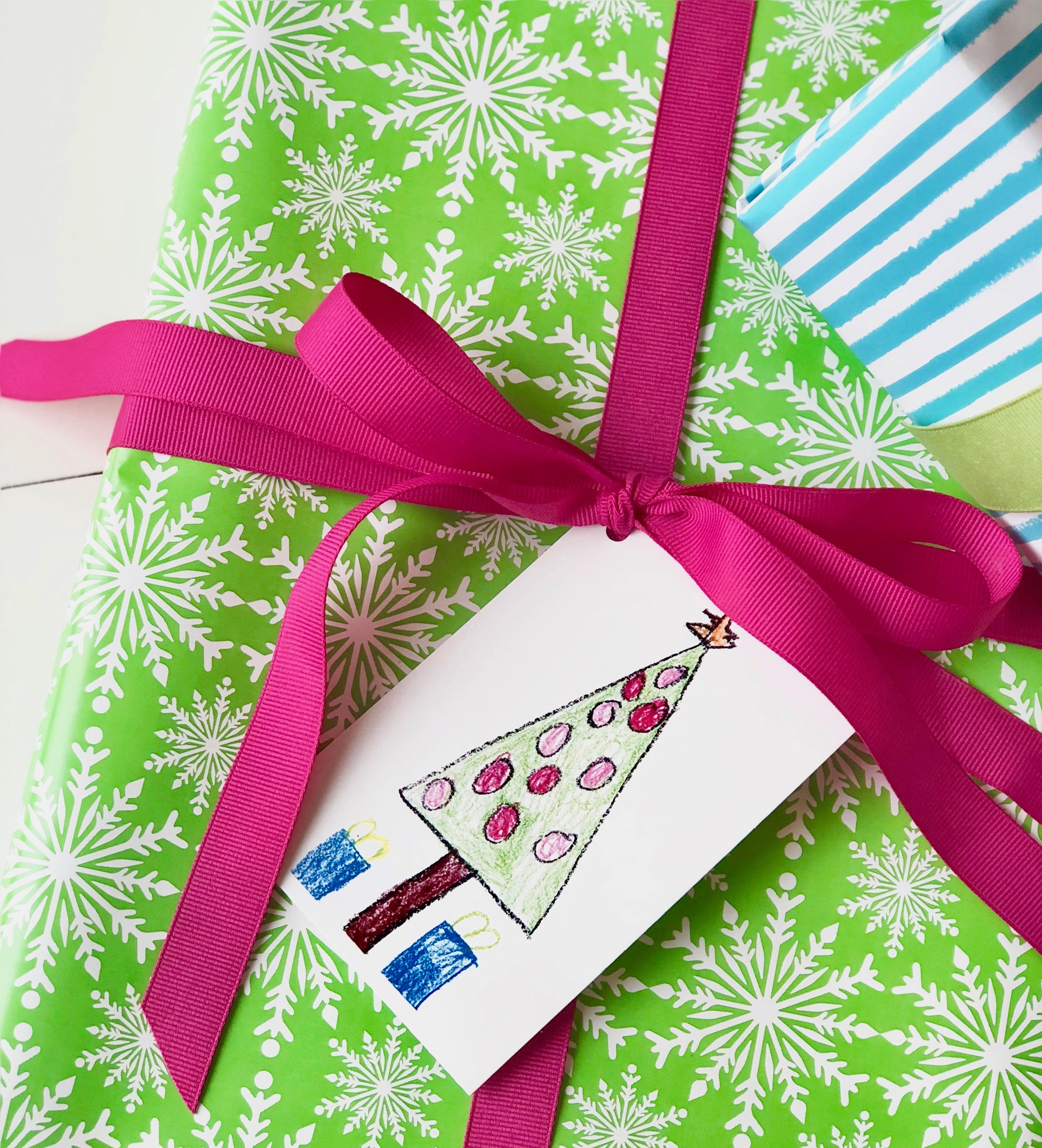 Easy Holiday Gift Tags