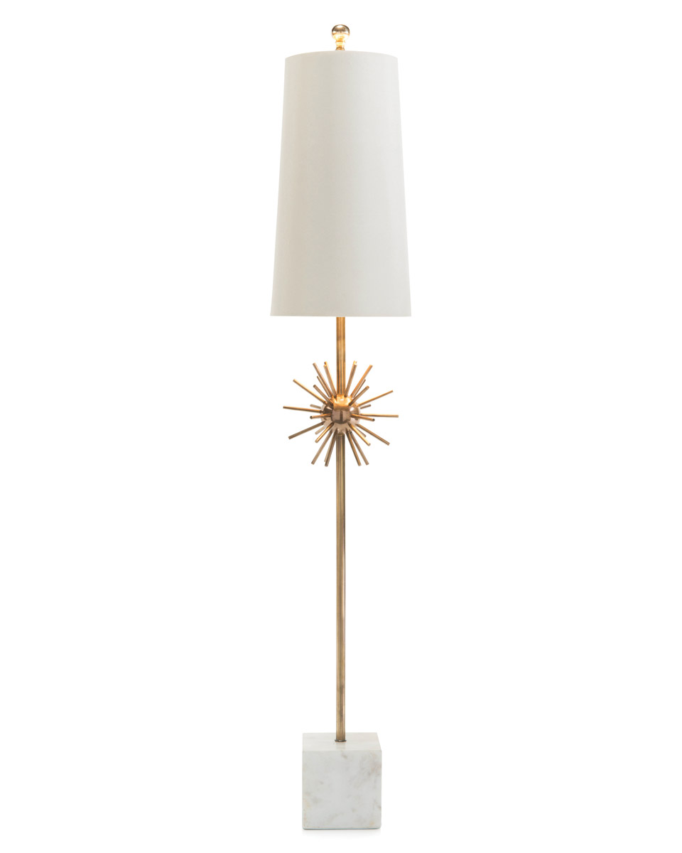Orbit  buffet lamp by John Richard