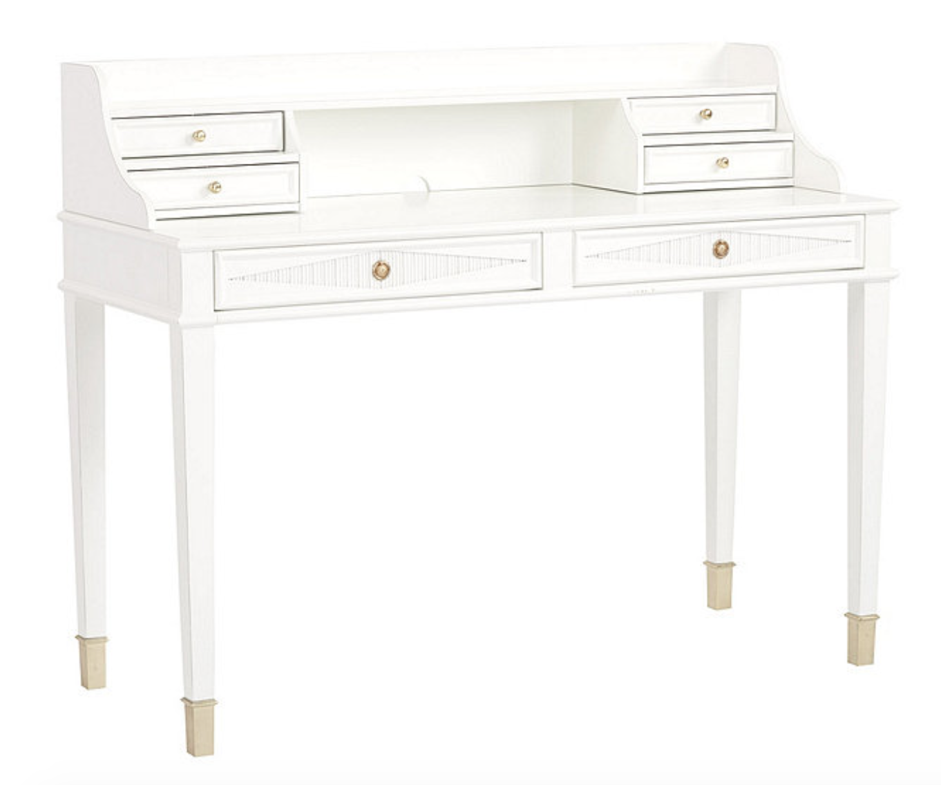 The  Margaret Desk and Hutch  from Ballard Designs