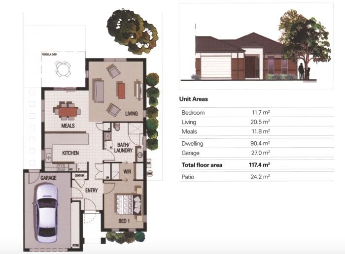 Talbot Floor Plan