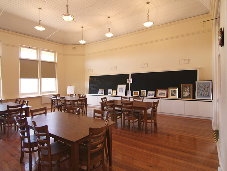 our lovingly restored historic schoolhouse community centre
