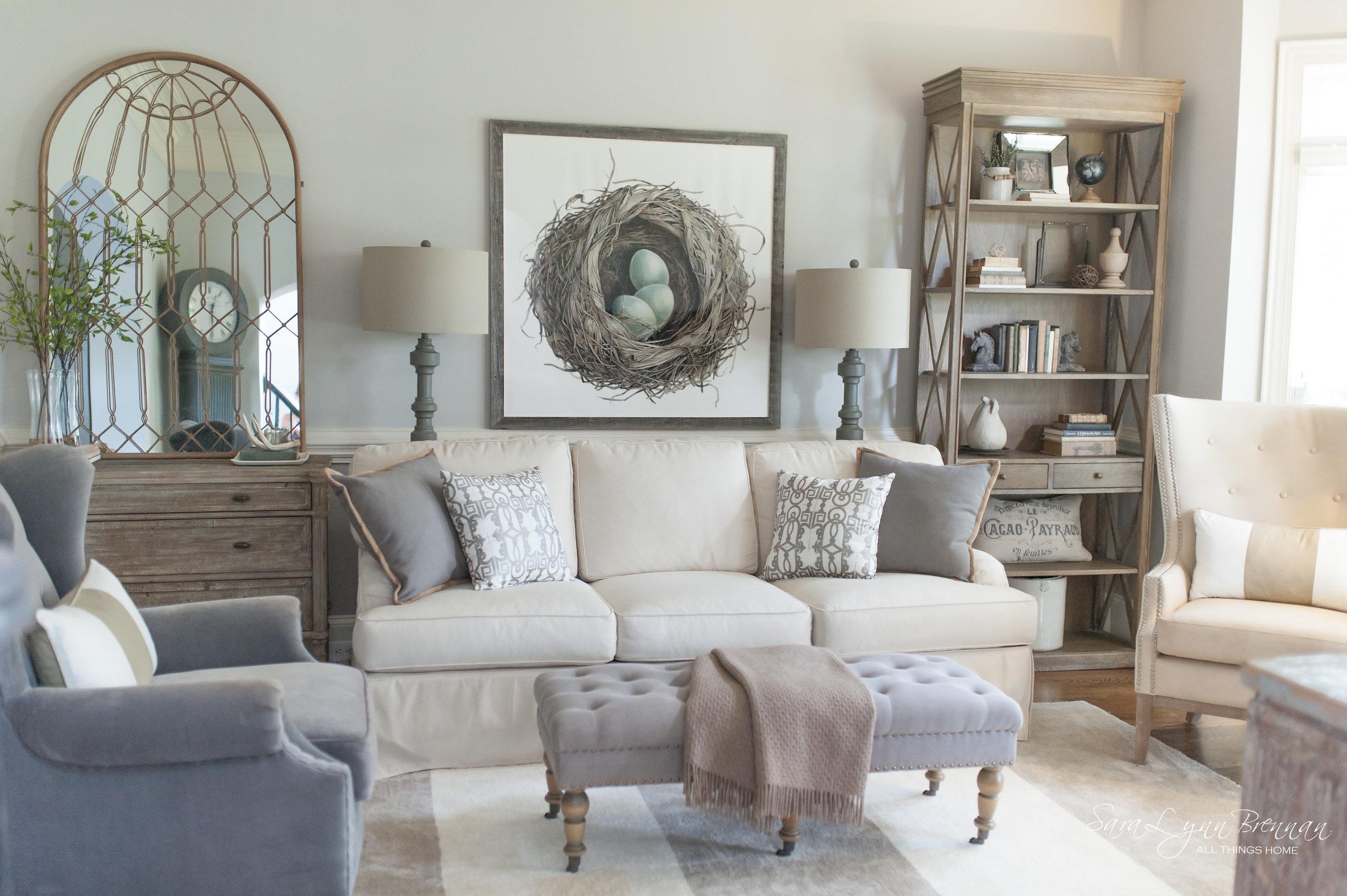 Sara Lynn Brennan   Living Room