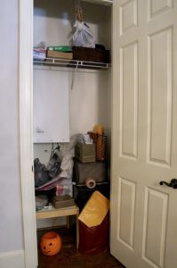 Closet Before it became office space