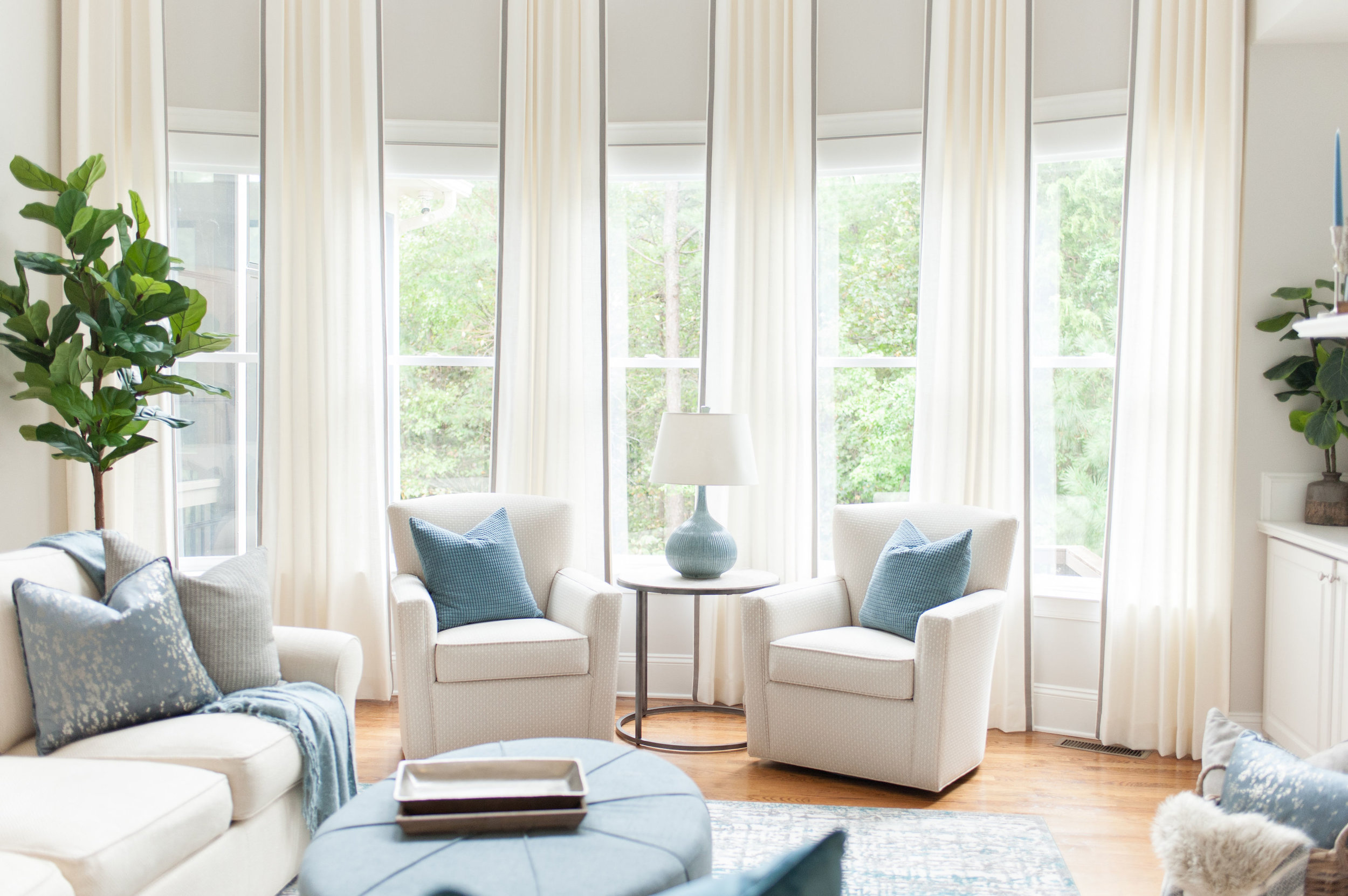 Custom Window Treatment Consultation - $250(Click to Learn More)