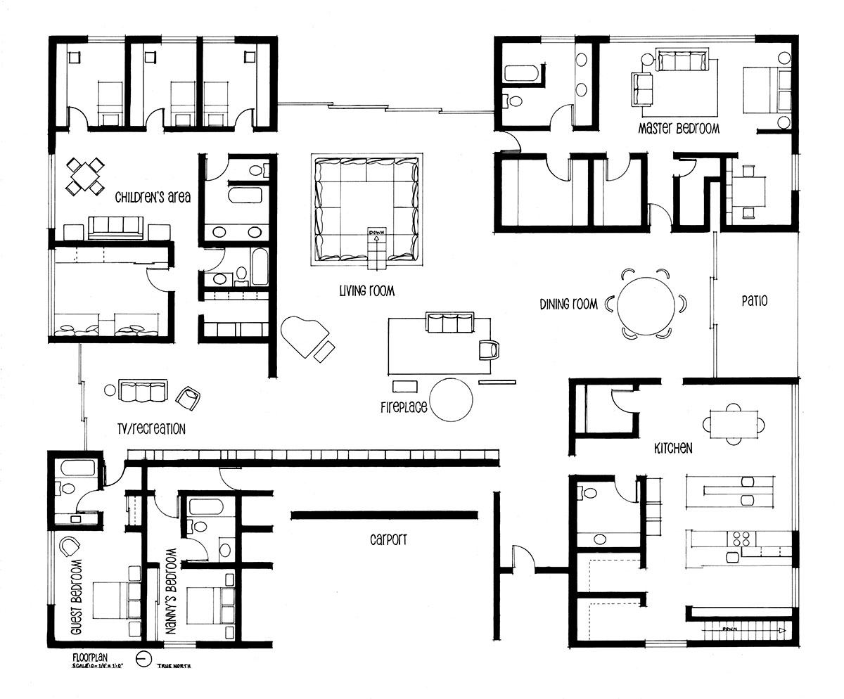 The Miller House By Saarinen Sarah Karon