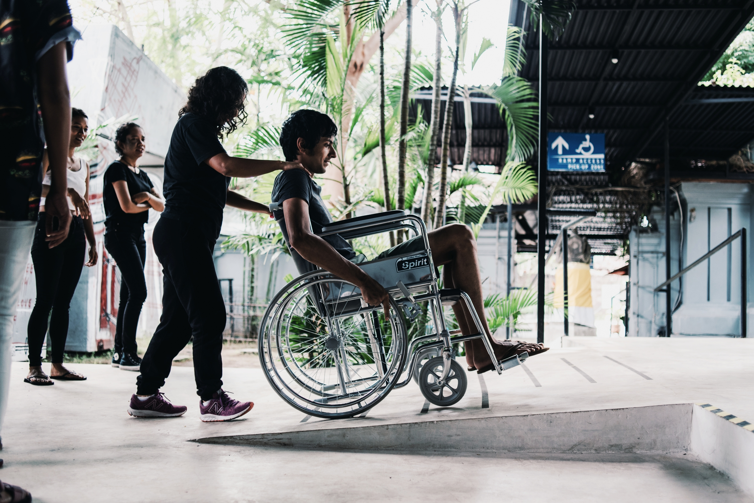 Research.  Working with Indonesian research staff to pilot testing protocols to evaluate wheelchair usage in Bali, Indonesia.