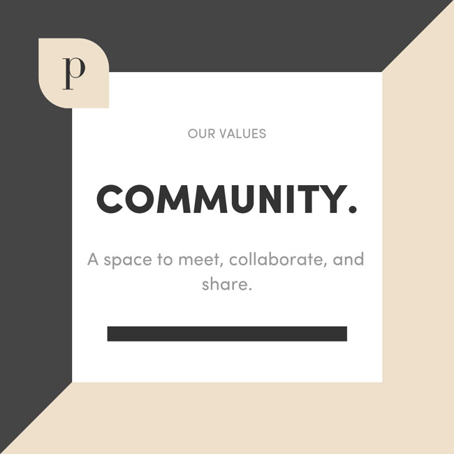 The Parlor Values: Community