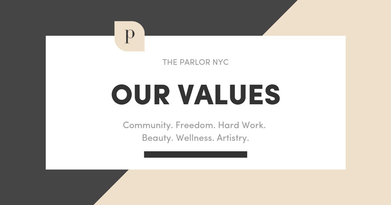 The Parlor's Values