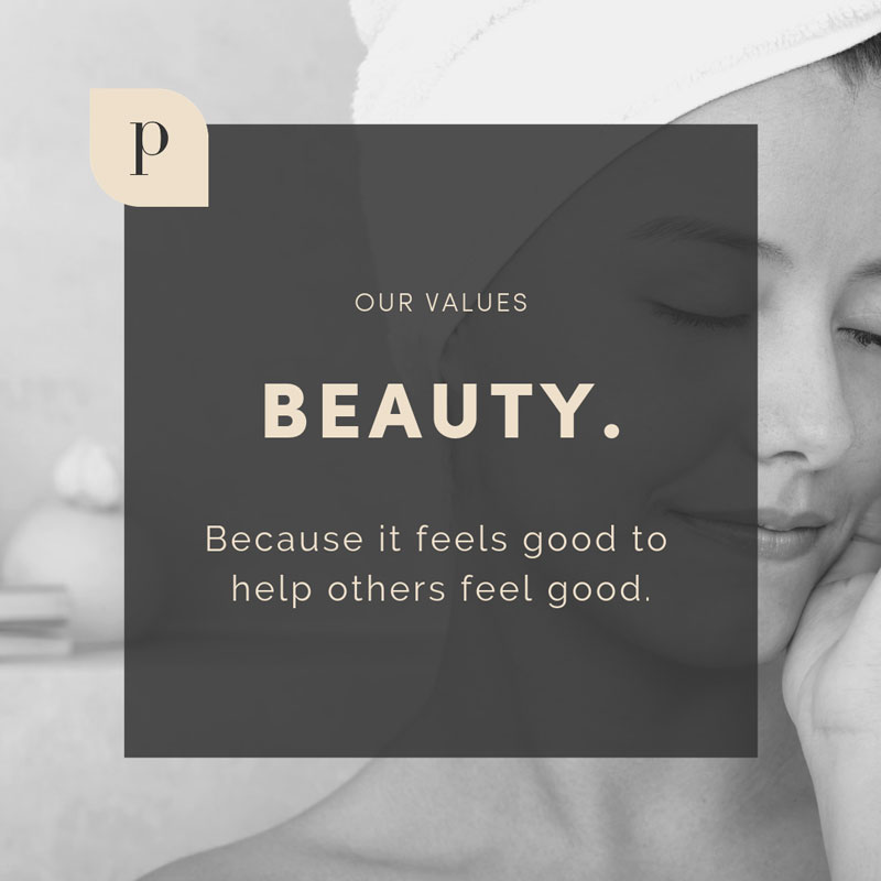 The Parlor Values: Beauty