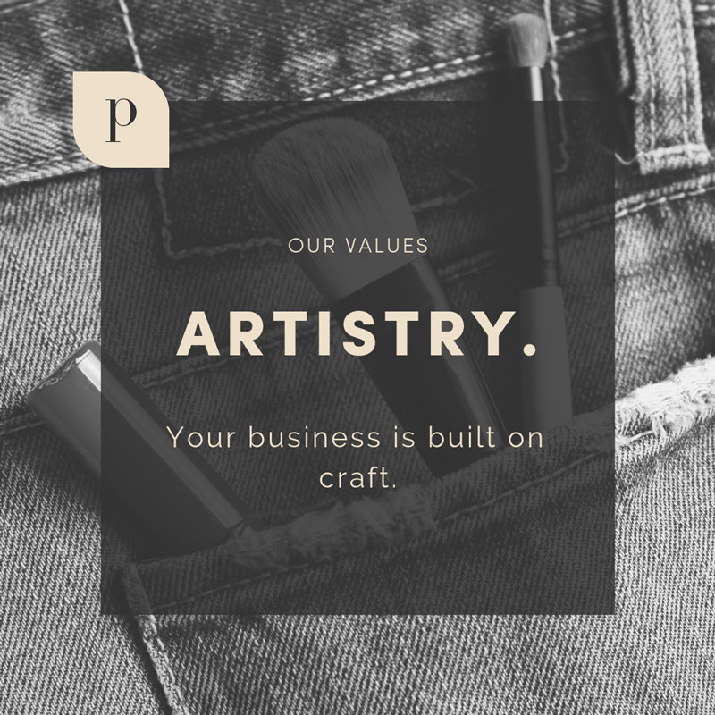 The Parlor Values: Artistry