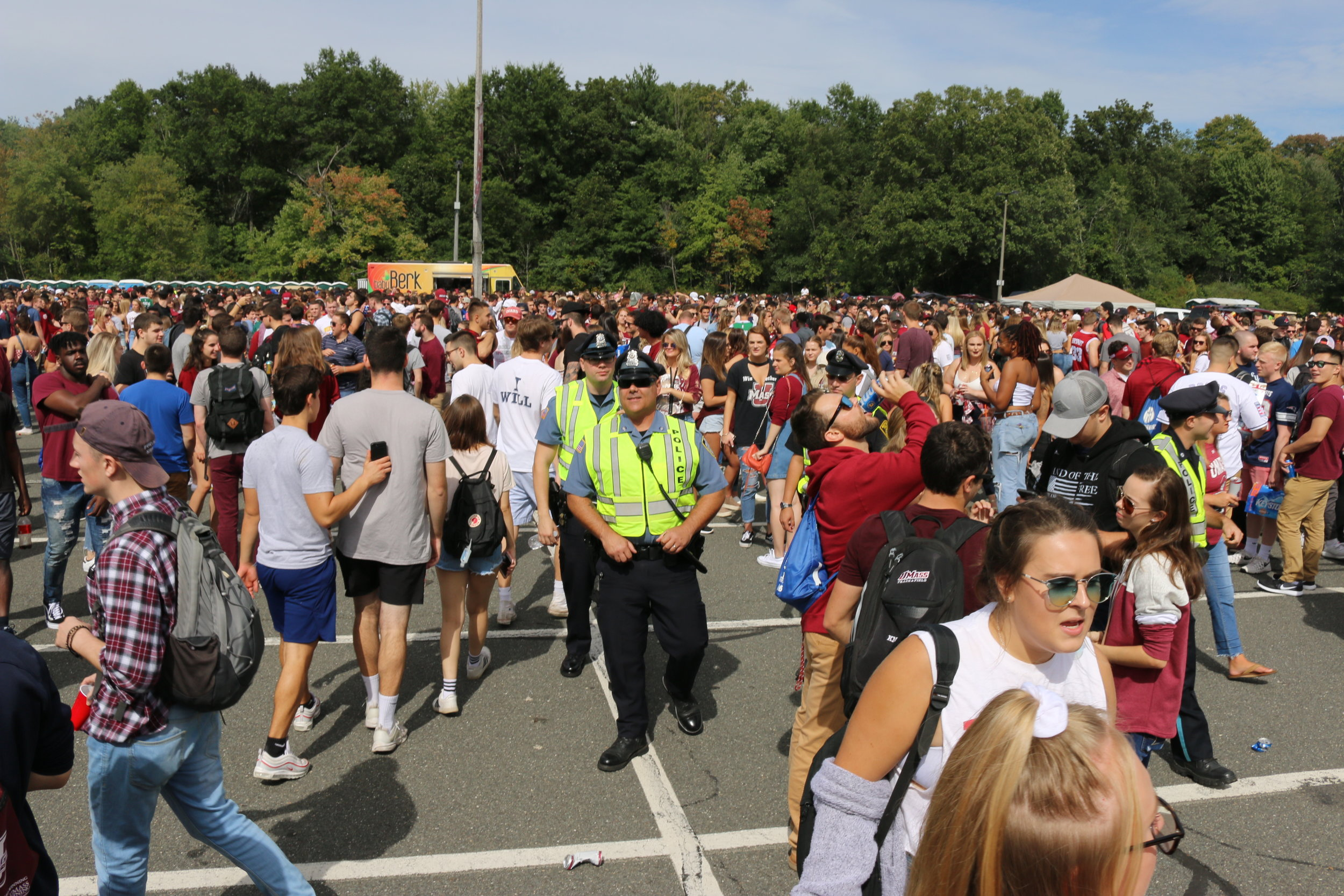 UMass Tailgate 9/22/18 - This is a gallery of the first UMass tailgate of the 2018-2019 Football season. Rowdy and loud, UMass never disappoints.Photos from this gallery were published in a slide show by The Amherst Wire. click here to view.