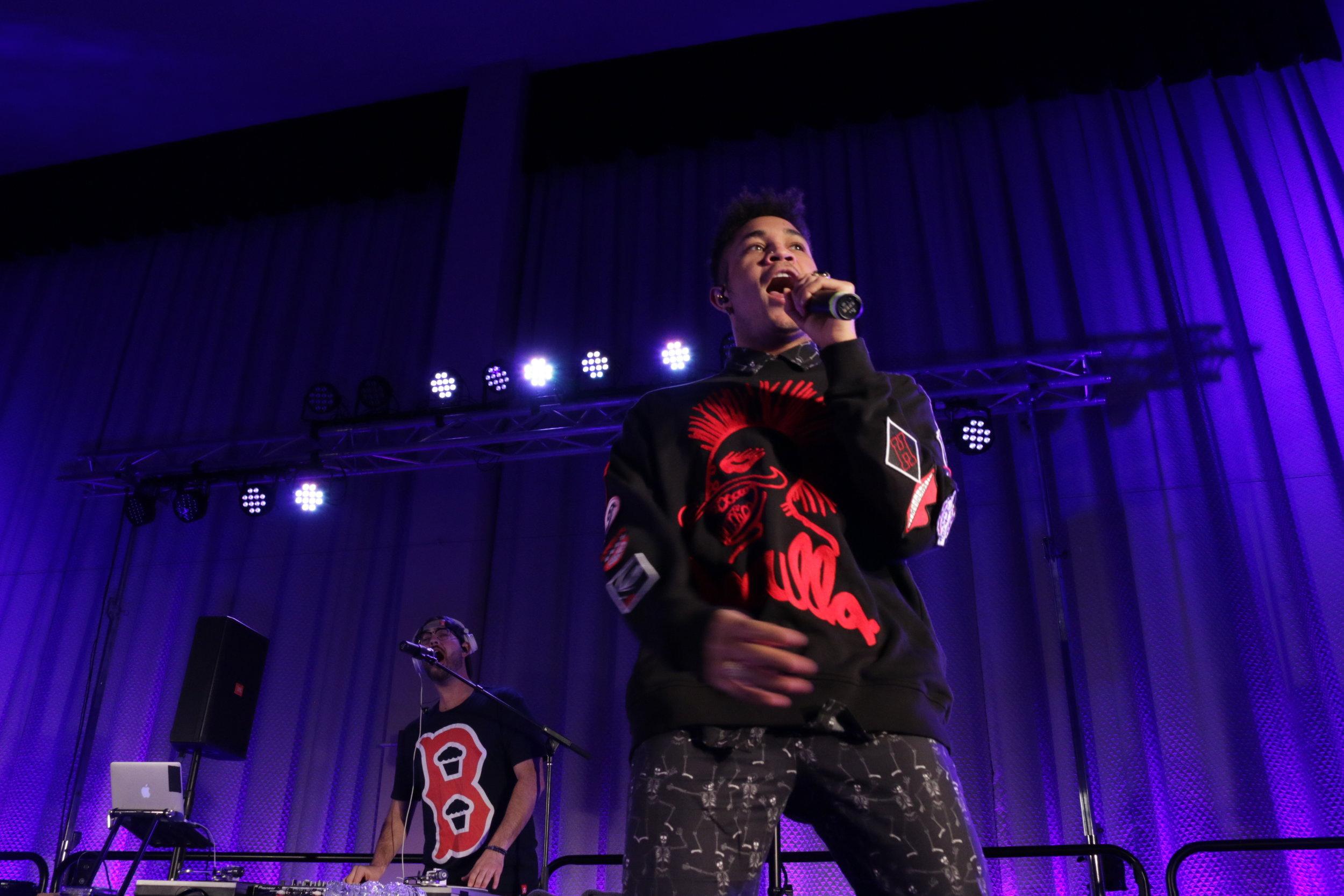 Bryce Vine - UMass Amherst - Fall 2018 - On December 5, 2018, rapper and singer, Bryce Vine, performed at UMass Amherst.