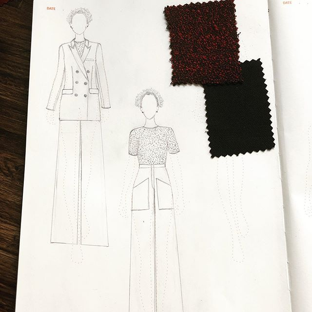 Can't seem to find a quality suit anywhere sooooo I guess that's what I'm making. To save on time, I'm thinking a double breasted blazer in a black wool twill so I can mix and match with the Air Force Trousers and the Tiana Tuxedo Trousers.  Hopefully I can finish the muslin sample tonight 😬!!