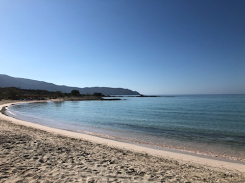 Elafonisi Beach in Crete.