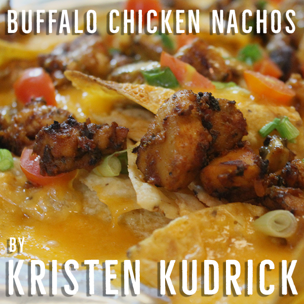 """""""Hearty, guest-pleasing nachos are bursting with flavor with a combination of the crunchy tortilla chips with the spicy buffalo chicken and blue cheese dressing make the perfect accompaniment to a frosty cold beverage!"""""""