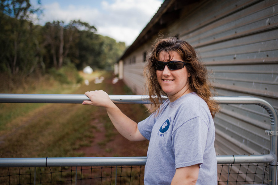 Farmer Holly of Pleasant Hill Poultry