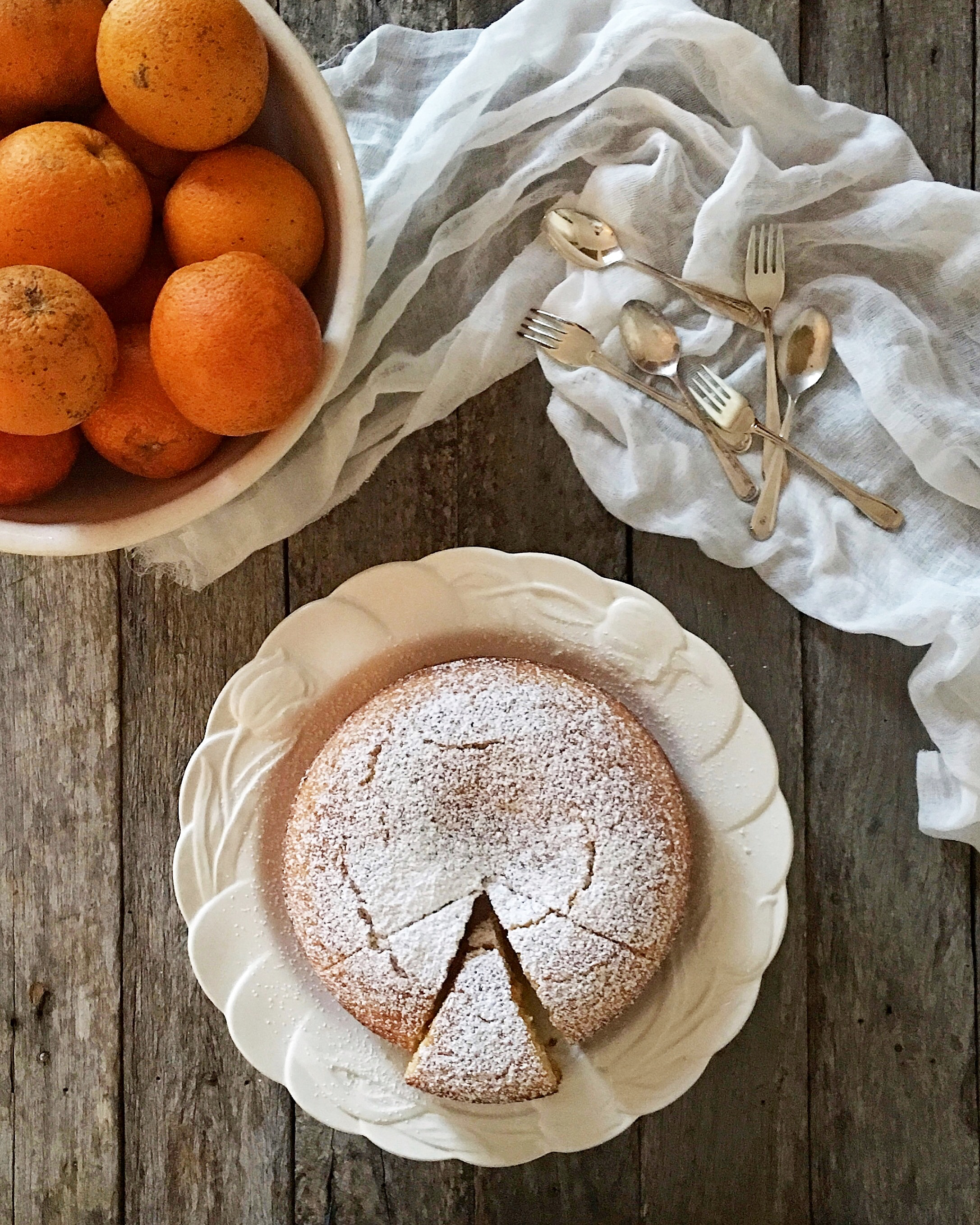 - Orange cake is a favourite in my house- especially at this time of the year when our local winter citrus crops are falling off the trees and in plentiful supply. I have several orange cake recipes but this one is my