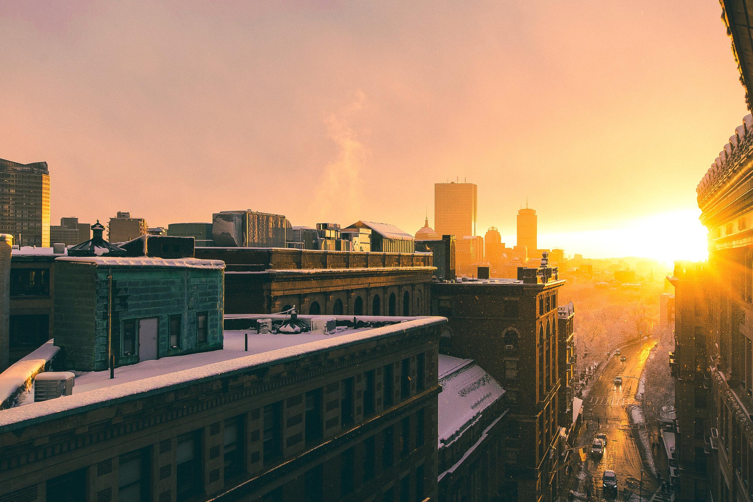 Live-blogging Boston