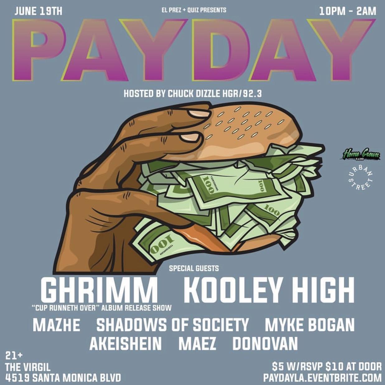 Payday LA Flyer