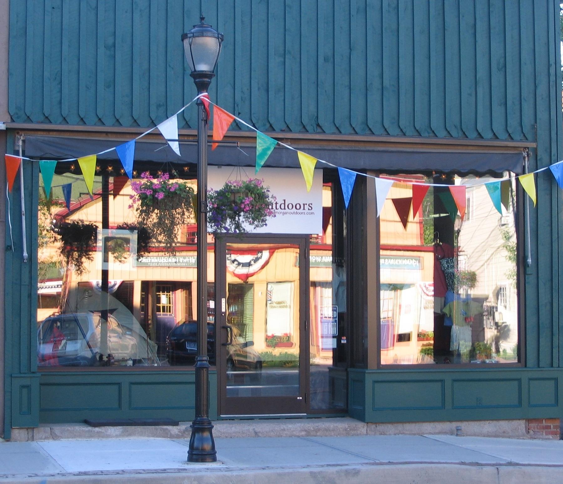 Anniversary Grand Opening July 2 2005 facade 46 Main St. Livingston Manor, L. Lyons photo.jpg