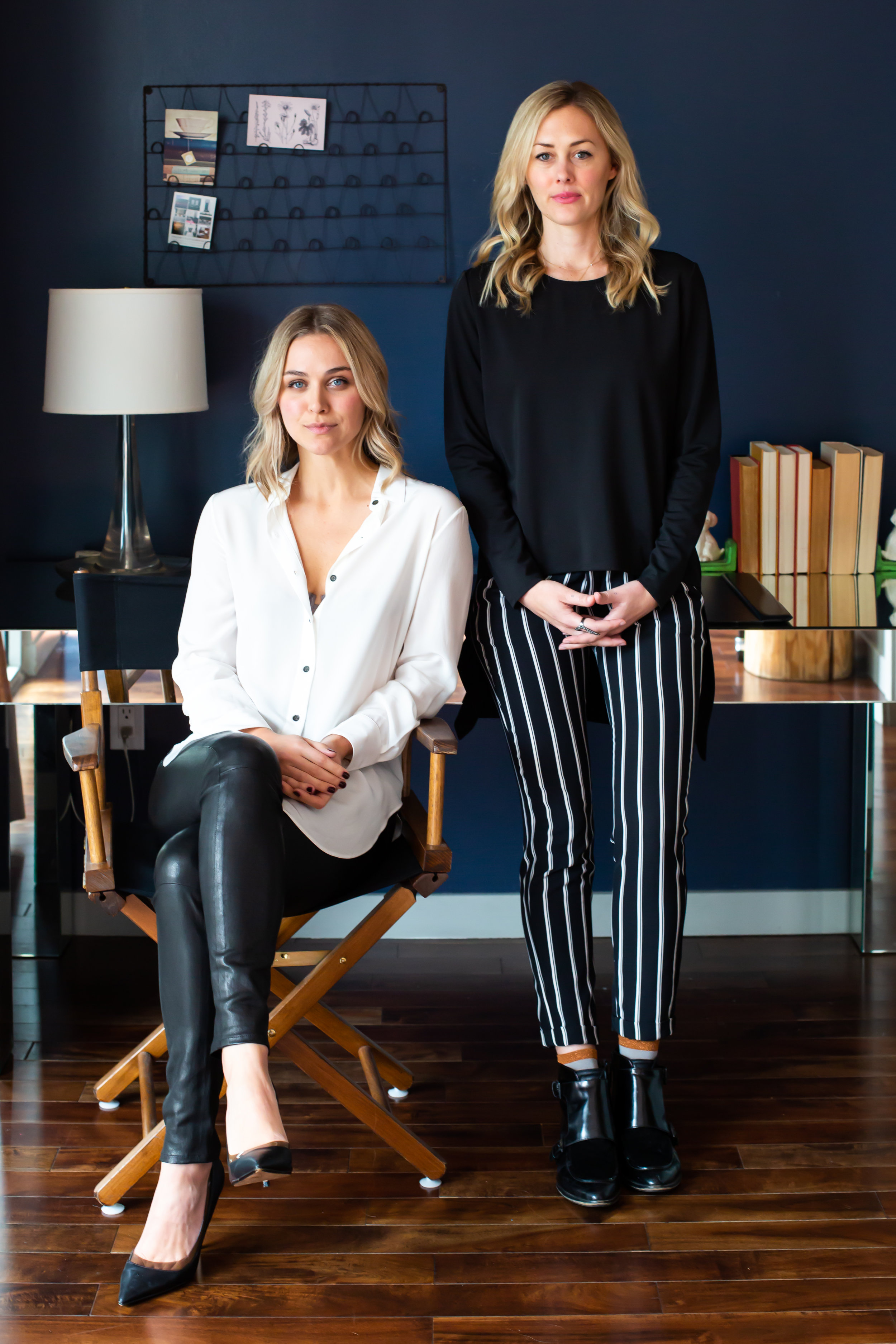 Ashley Sumner and Gianna Wurzl Co-Founders of Quilt