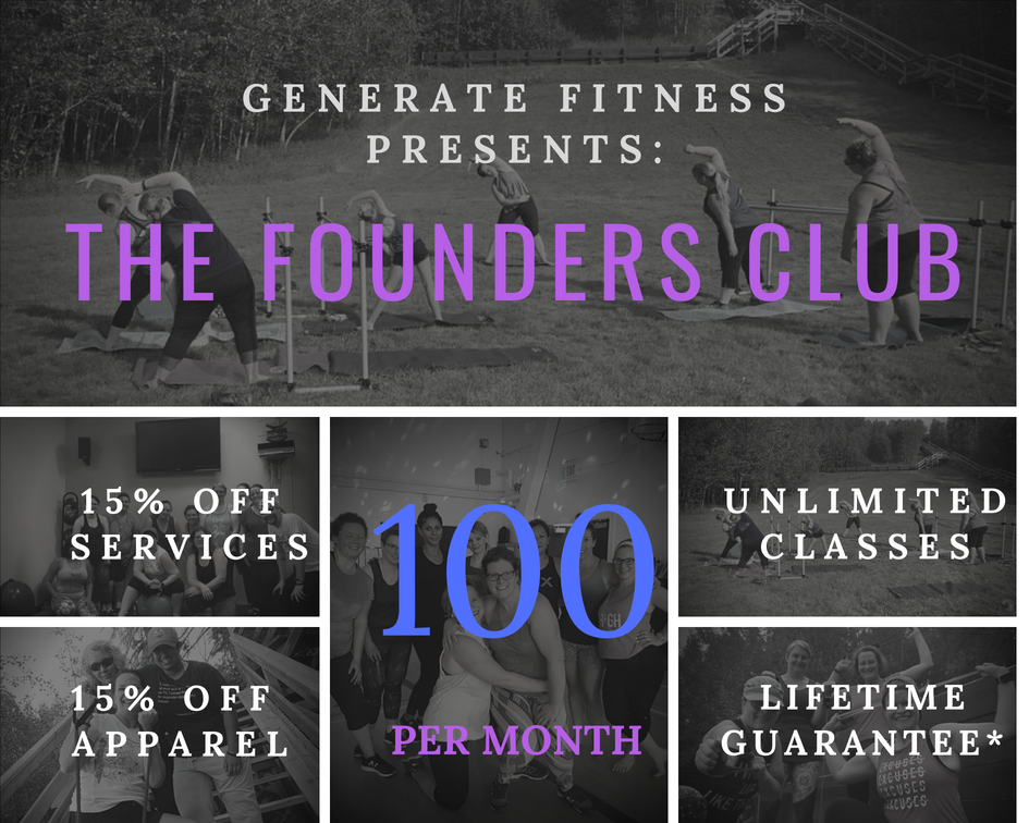 * 3 month commitment required. Rate guarantee applies only to continuous memberships and will expire upon lapsed membership. Memberships can be placed on a 1-month hold over the course of a 12-month period. For full details see our  Founders Club Agreement