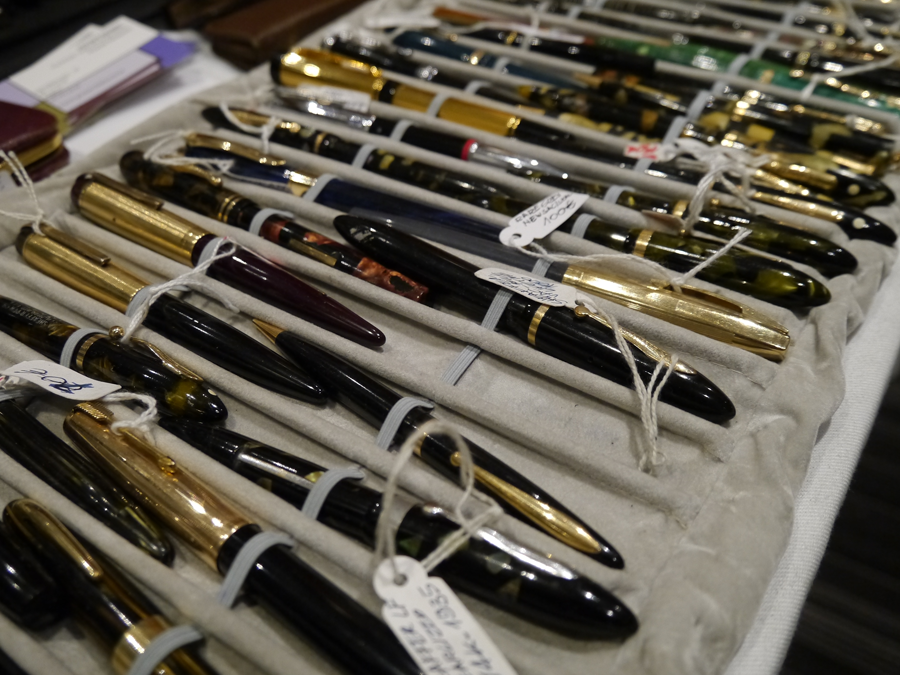 Fountain Pens at the London Writing Equipment Show