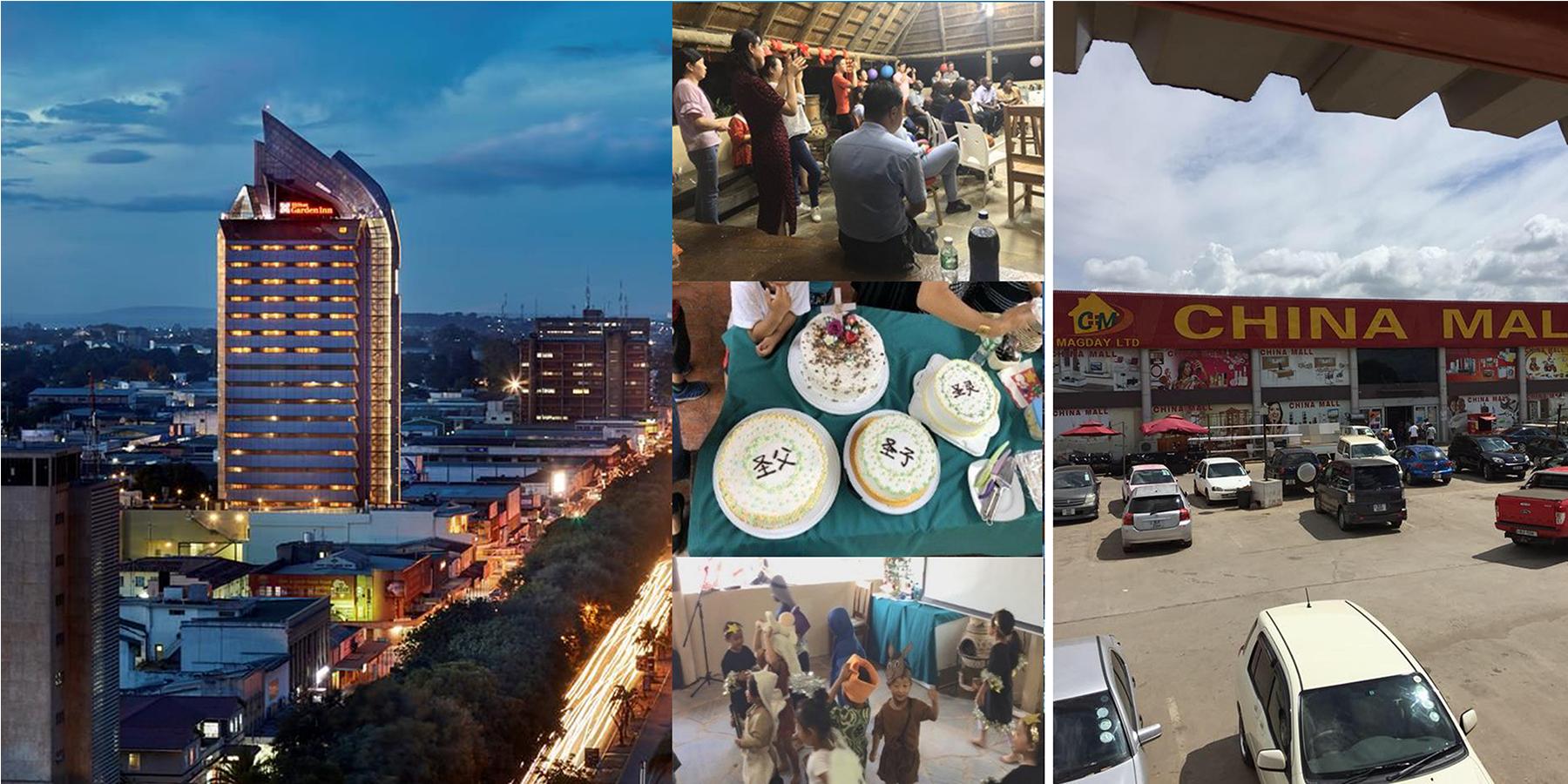 (卢萨卡是非洲南部发展最快的城市之一。来自中国的投资使整个赞比亚的购物中心蓬勃发展。)