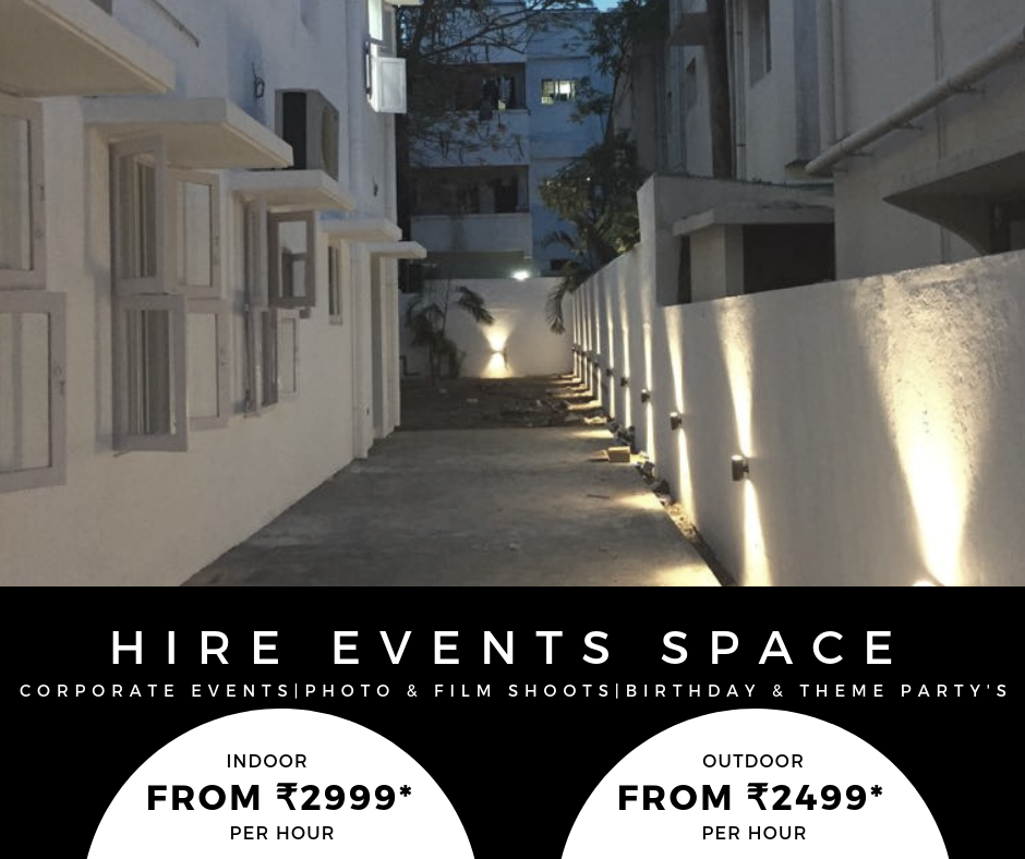 Event space at T Nagar