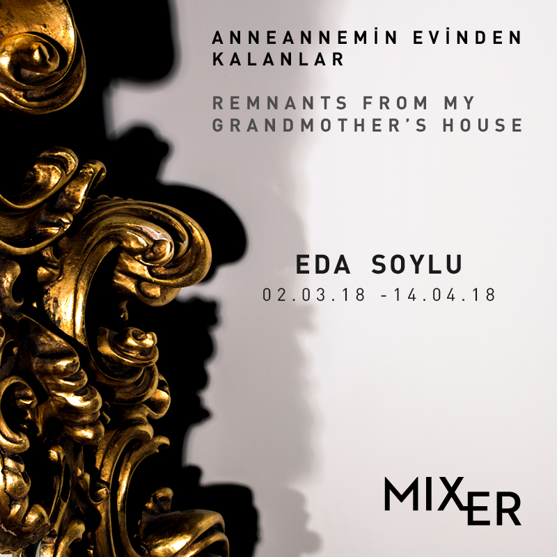"Eda Soylu - Remnants From My Grandmother's House    (2018)    ""Remnants From my Grandmother's House""  is a way for  Eda Soylu  to comprehend the empty void left behind the departed, through a house, objects and shadows. As the artist fuses the relics from her grandmother's house with those within her memory, she poetically searches for the way to commemorate the departed through her belongings."