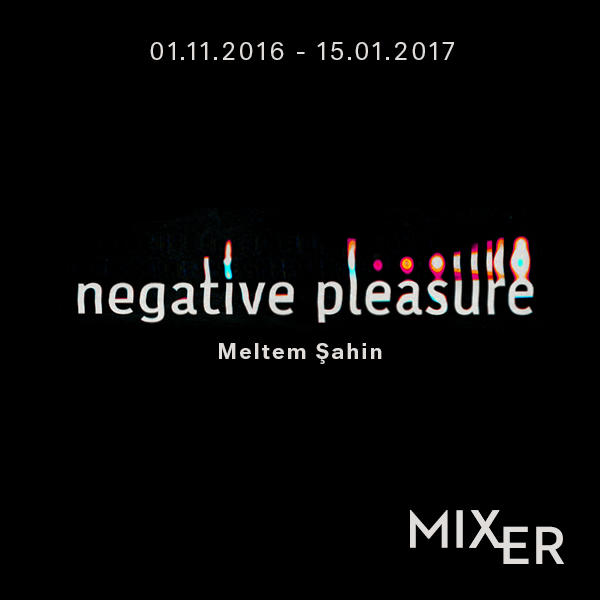 Negative Pleasure    (2017)   Meltem Sahin, who handles the works of philosophers such as Gilles Deleuze, Friedrich Nietzsche and Maurice Merleau-Ponty with their naïve drawings with pastel colors. Focusing on hearing, sight and touch, creating a unique field of experience and learning.