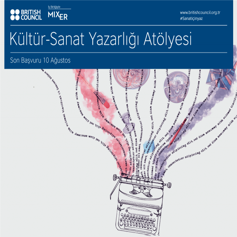 ArtWriting Turkey: Arts and Culture Writing Workshop in Collaboration with British Council
