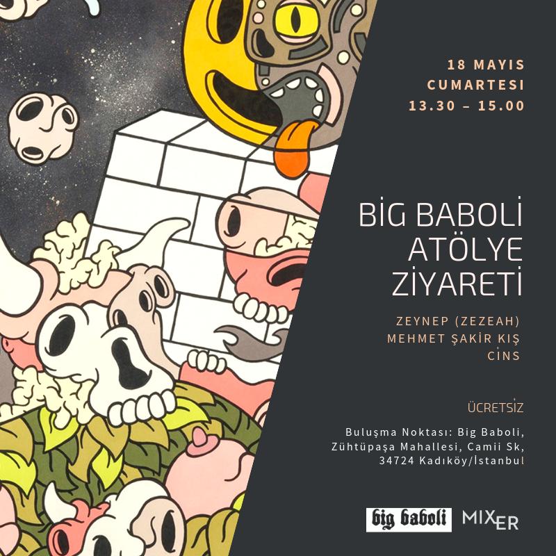 "Atölye: ""Big Baboli Print House"" atölye ziyareti"