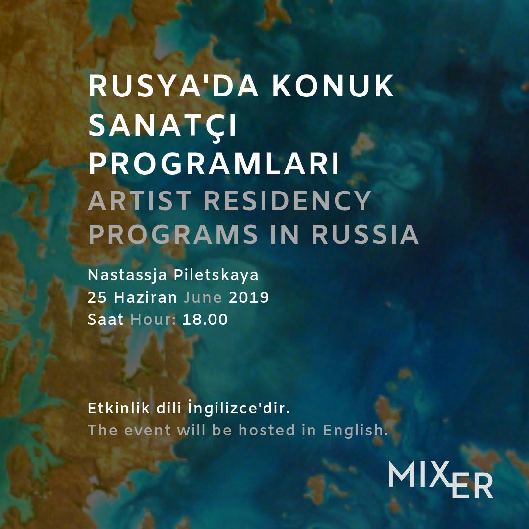 Rusya'da Konuk Sanatçı Programları