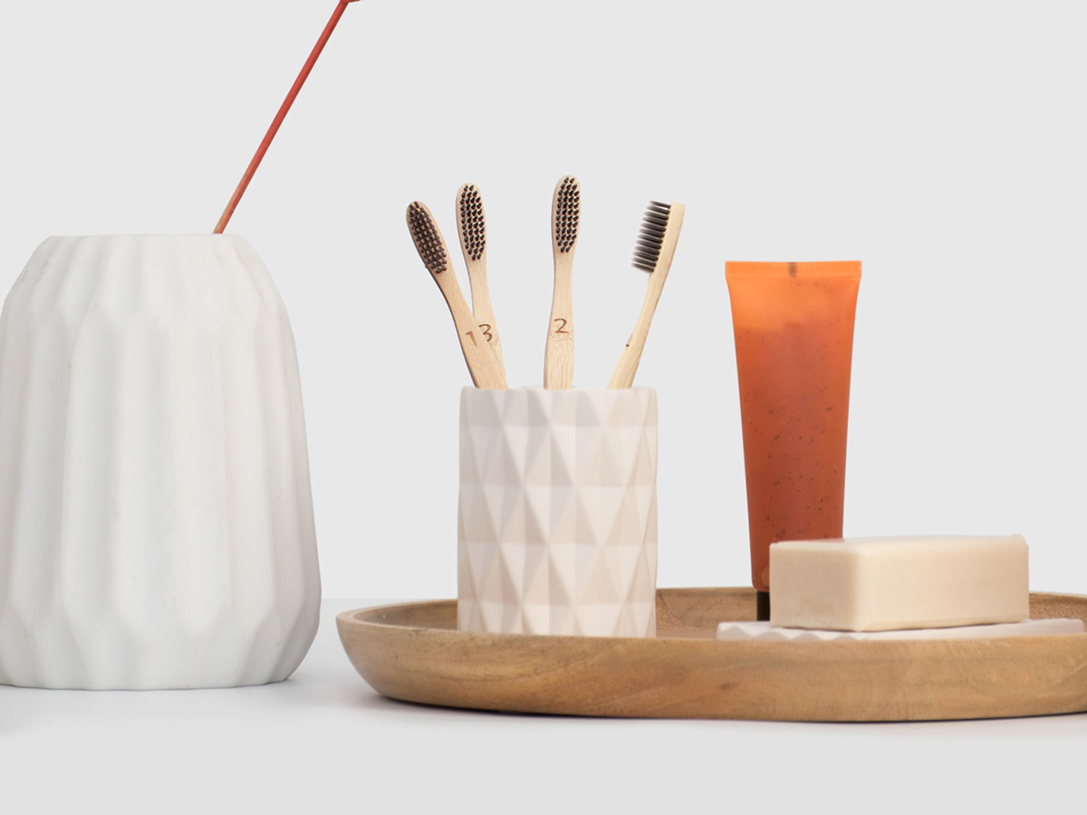 a better choice - If you have decided to start making more eco-friendly choices in your life, then deciding to try these natural bamboo toothbrushes is a great move. The wooden toothbrush feels comfortable in your hand and mouth while getting your teeth cleaner than many ordinary brushes. Plus, these eco-friendly toothbrushes look great in your bathroom or travel bag!