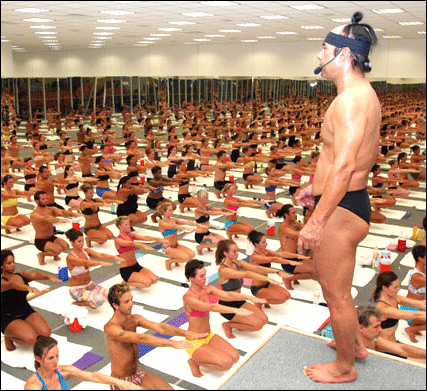 Bikram Choudhury - the sort of guy you could see yourself going for a pint with.