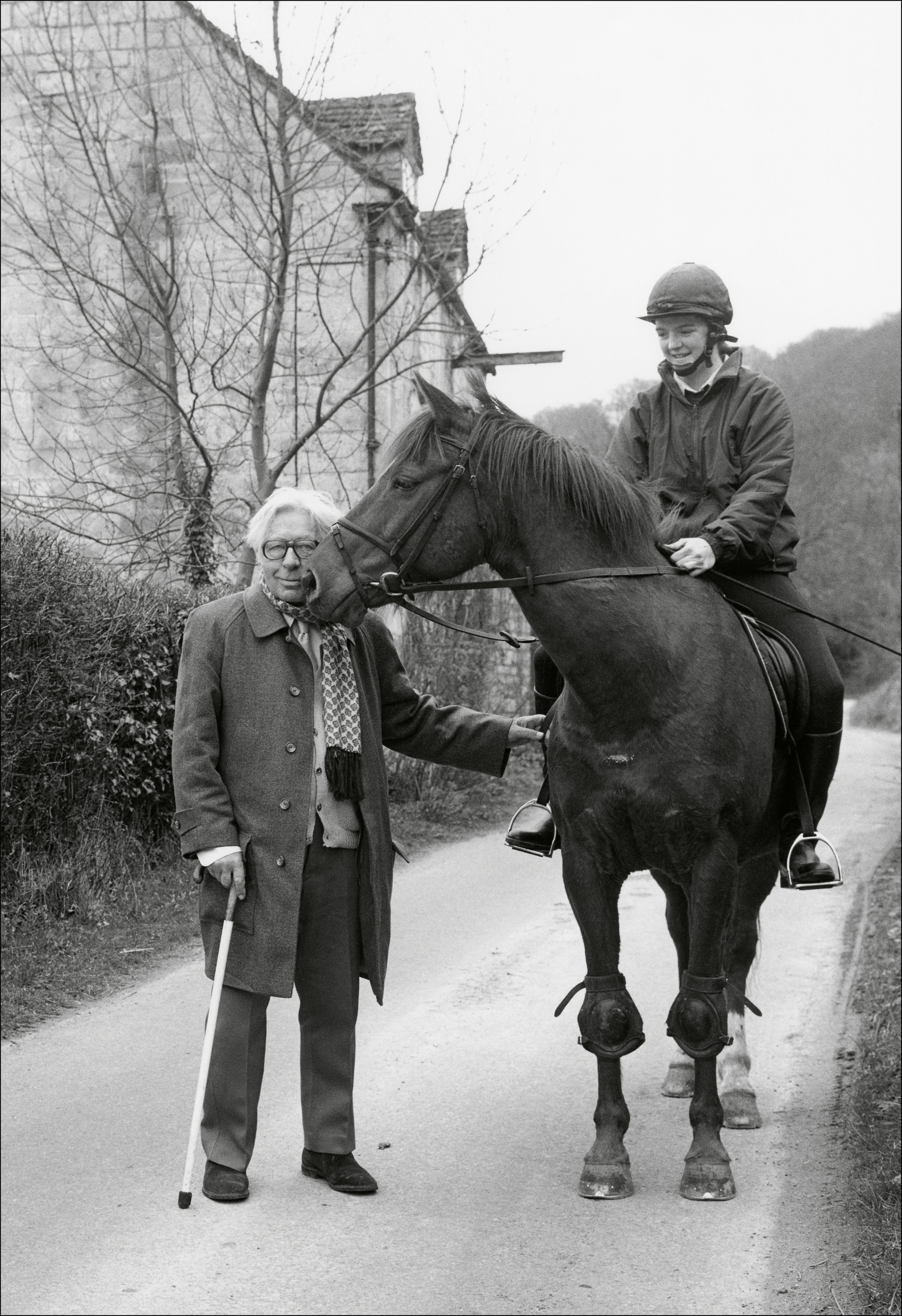 Laurie Lee photographed in the Cotswolds © Chris Chapman 1994 copy.jpg
