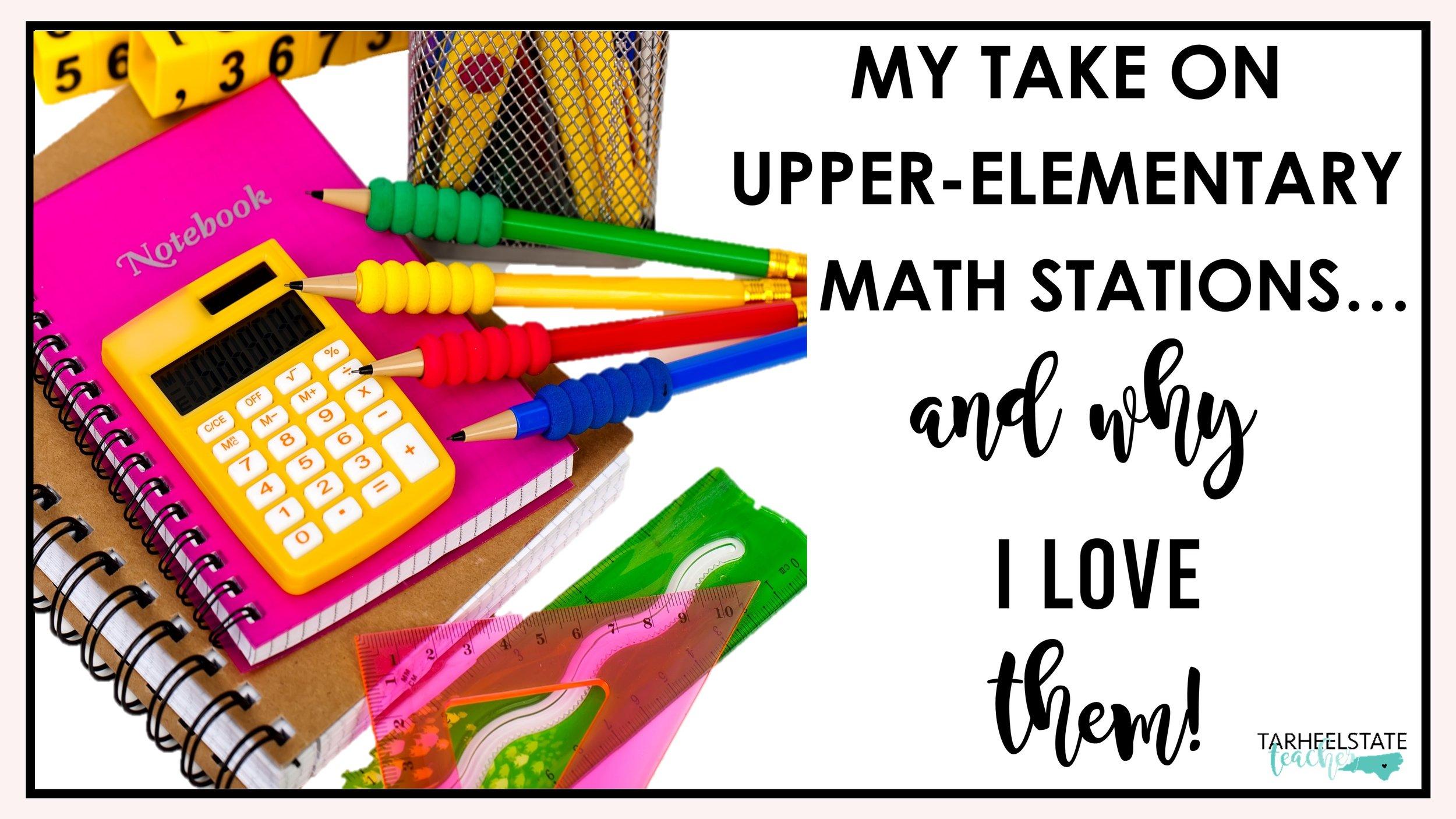 My take on upper-elementary math stations.JPG