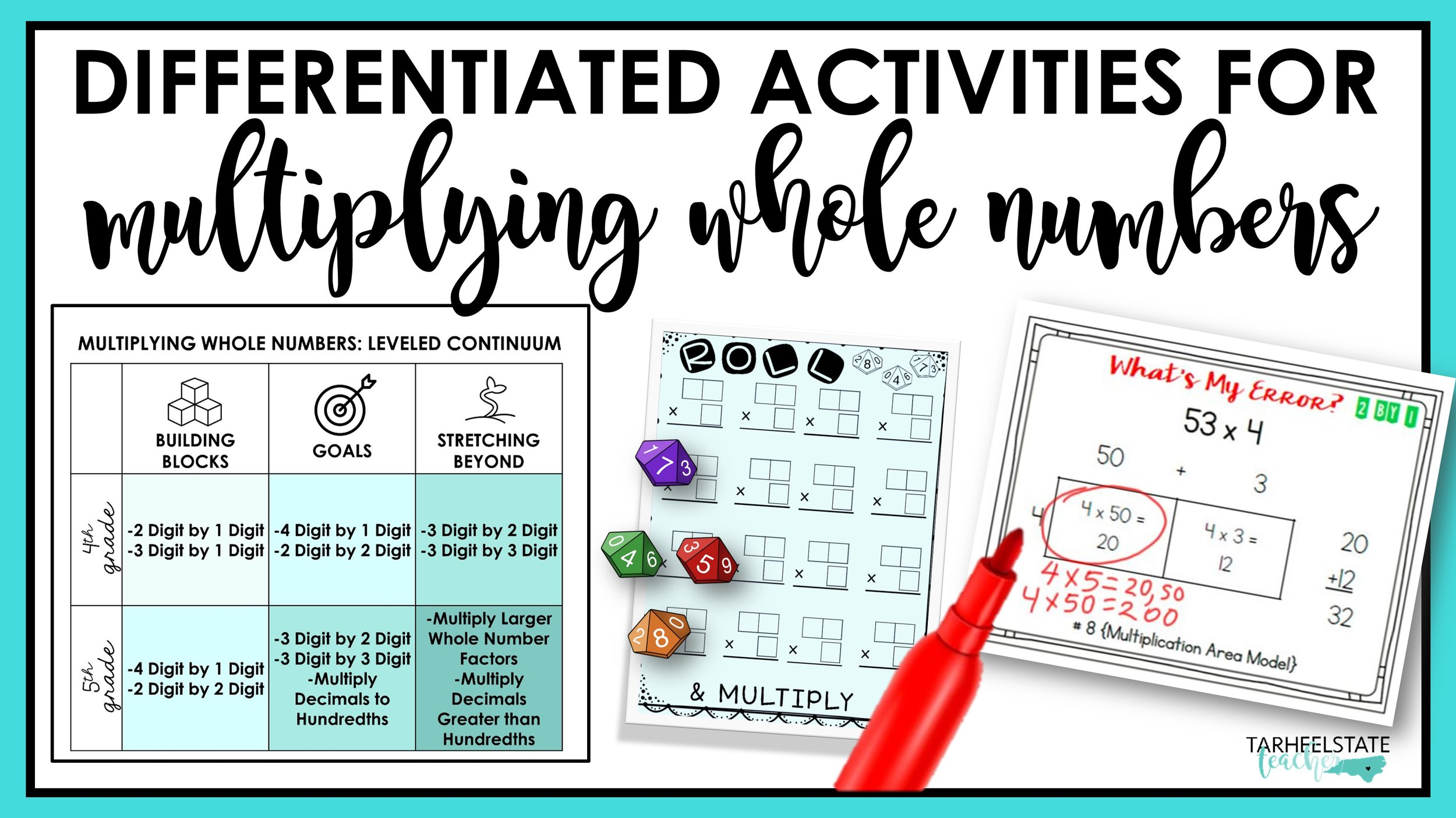 Differentiated activities for multiplying whole numbers.JPG