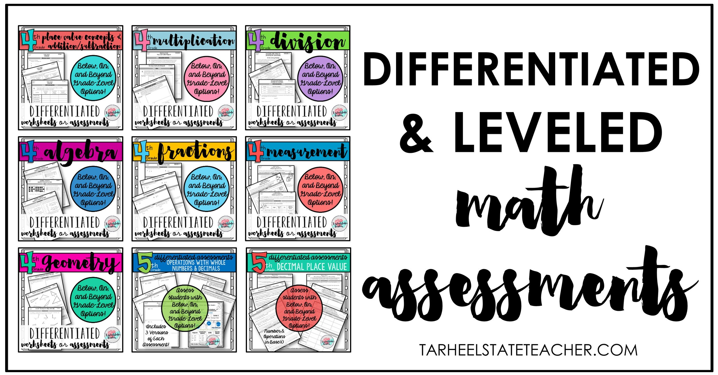 differentiated math assessments for 4th 5th grades.jpg