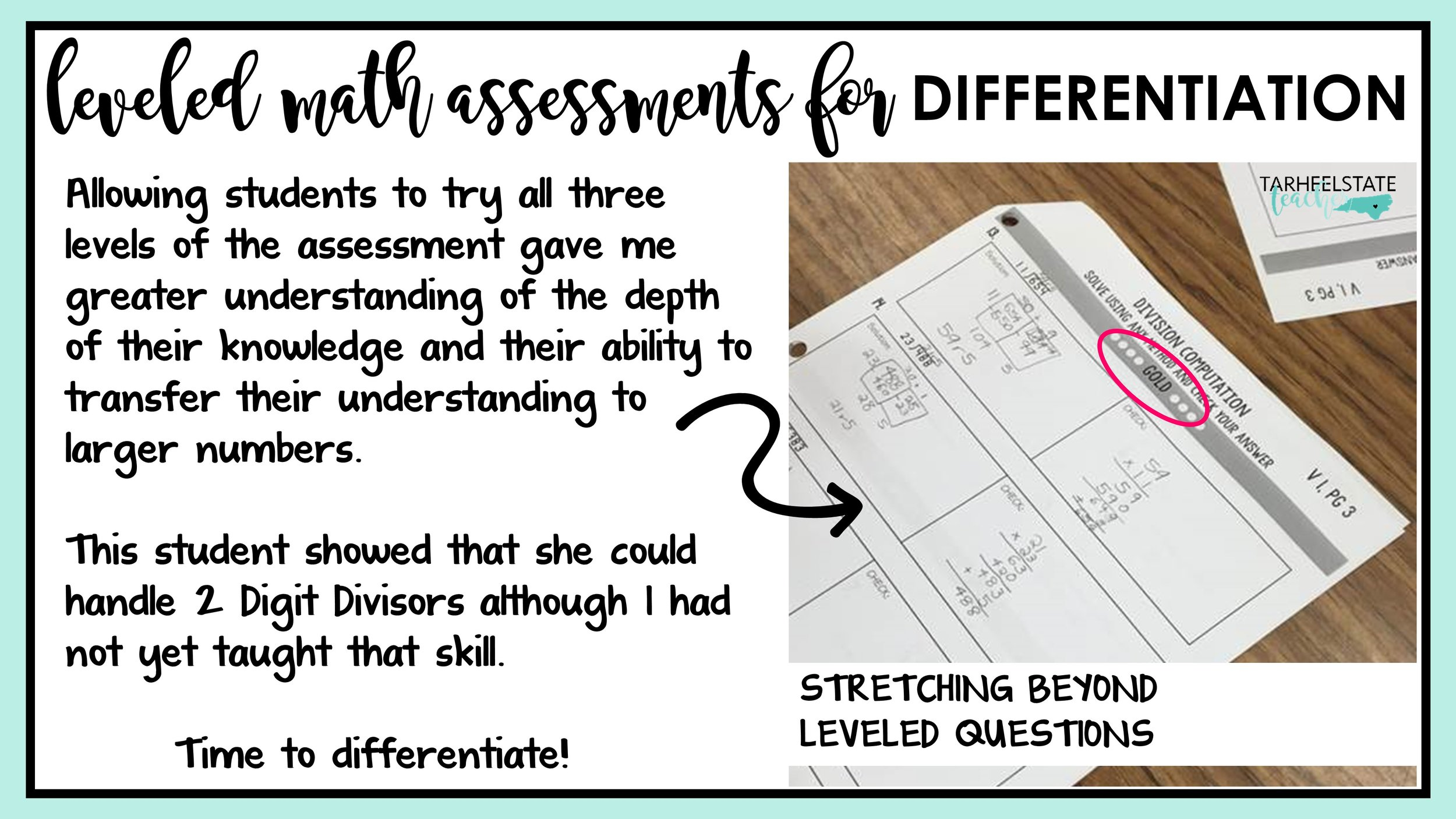 assessing and differentiating with leveled math resources.JPG