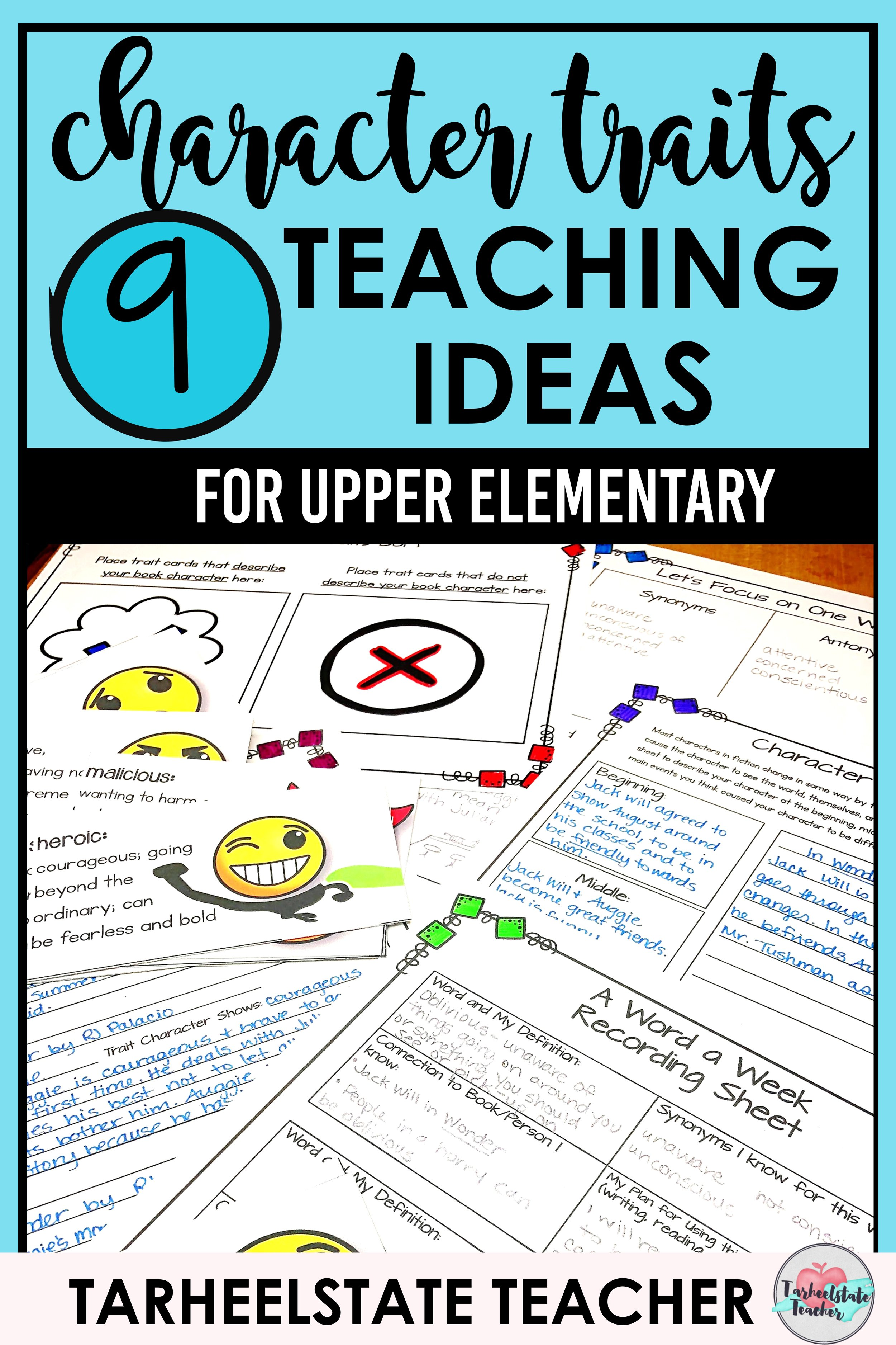 lesson ideas graphic organizers for teaching character traits.JPG