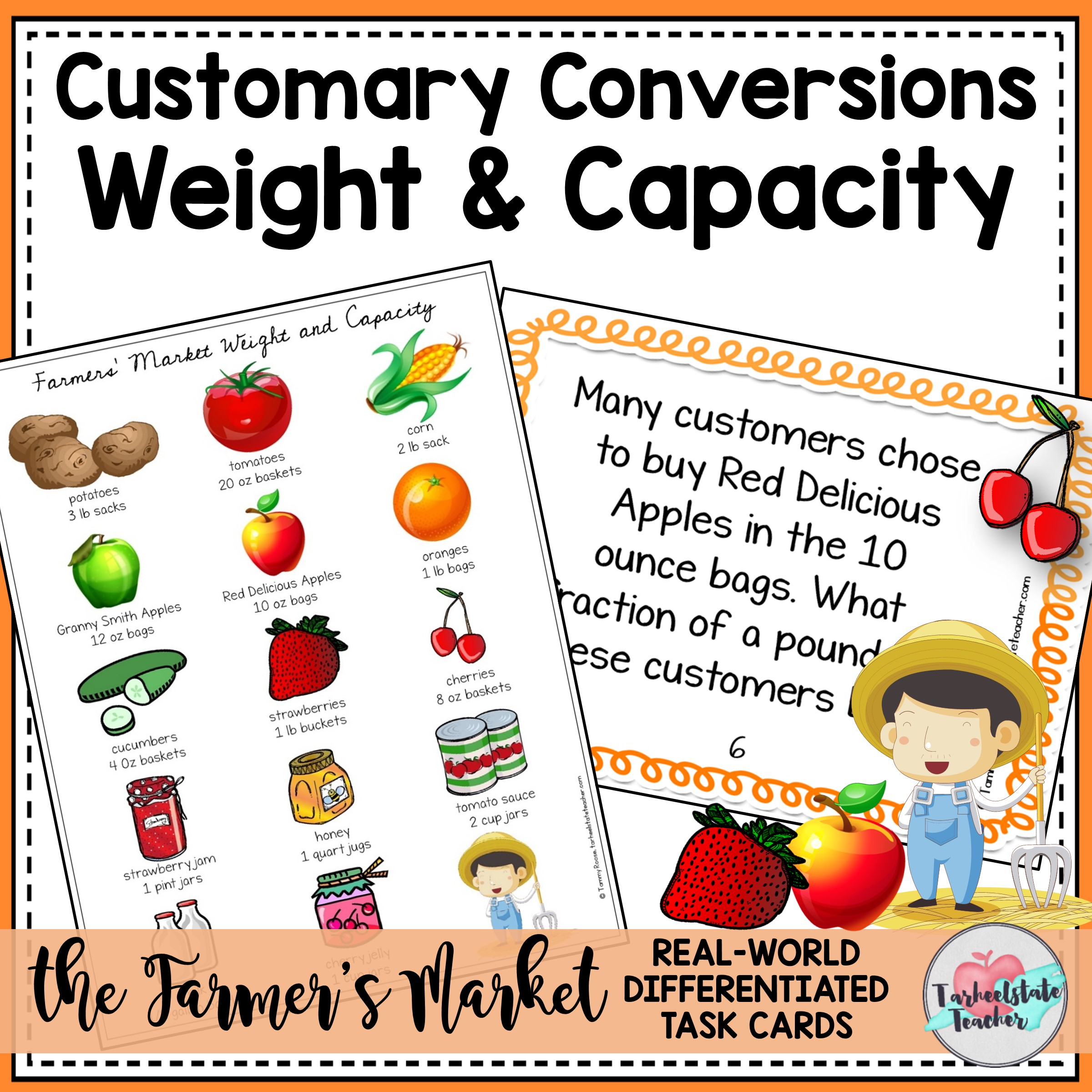 customary capacity weight conversions task cards.jpg