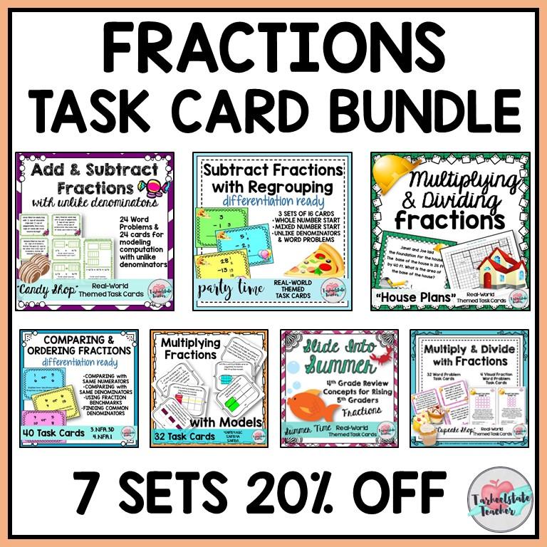 4th 5th grade fractions common core mega bundle.png.jpg