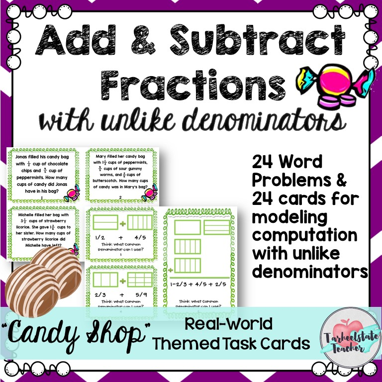 add subtract fractions with unlike denominators task cards.jpg
