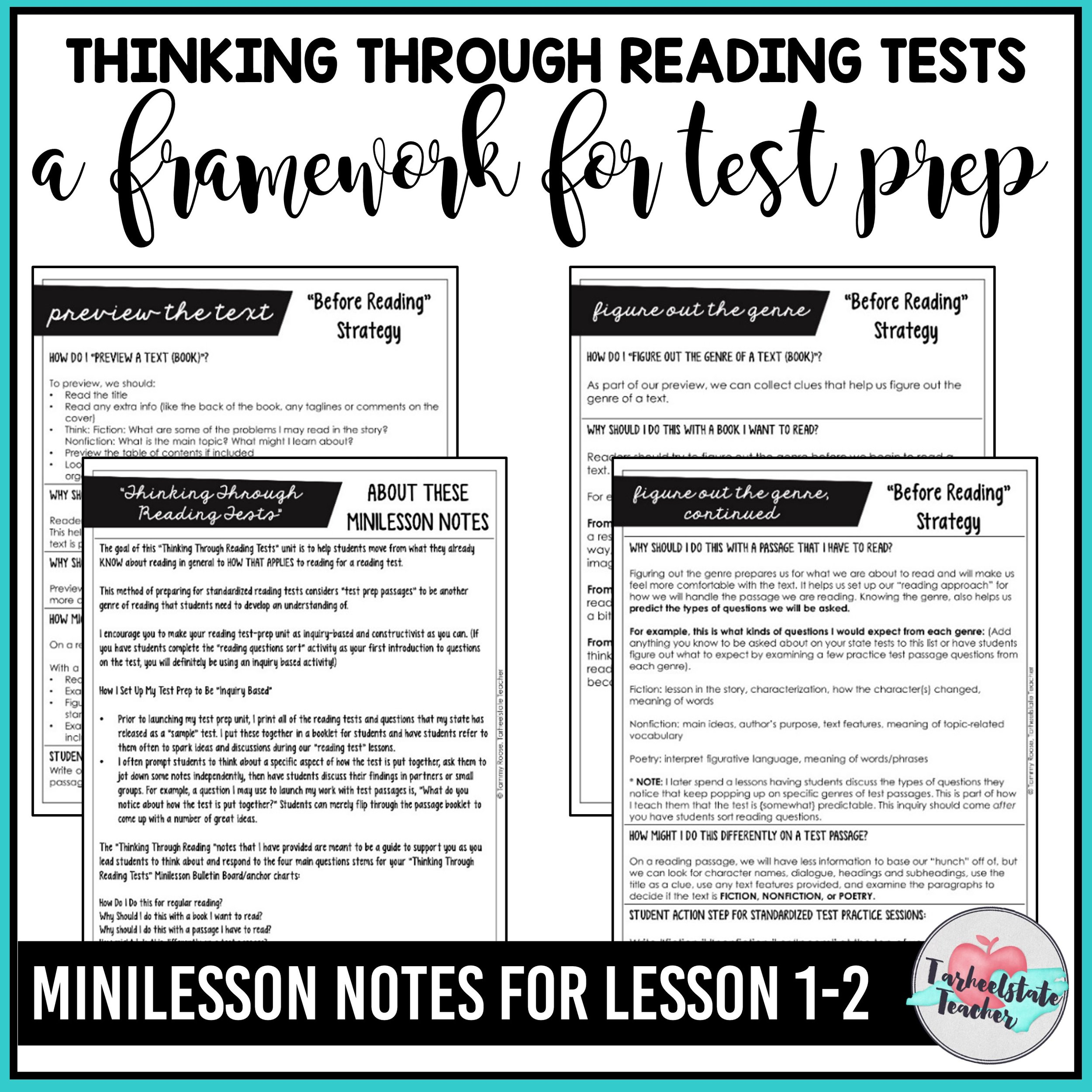 photograph relating to Printable 3rd Grade Eog Reading Practice Test named Free of charge Looking through Try Prep Webpages Tarheelstate Instructor