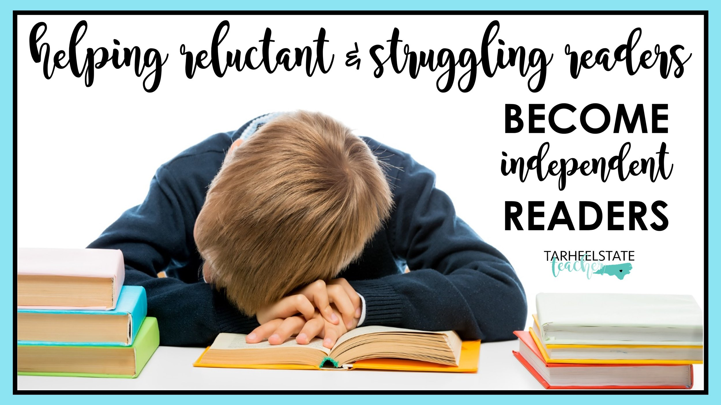 How will you support your reluctant and struggling readers at the beginning of the year? I believe we need to know who our struggling readers are before back to school even starts and that we need to have strategies and ideas ready for helping students build a reading life! (Tips/ideas to be prepared ahead of time for your upper elementary reluctant and struggling readers.) 3rd grade, 4th grade, 5th grade reading ideas #independentreading #4thgrade #5thgrade #readersworkshop #readingworkshop